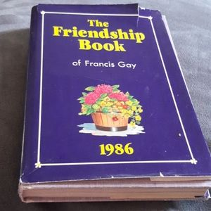 The  Ffriendship book of Francis Gay 1986